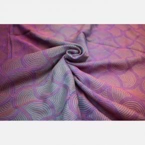 Bandolera Yaro Gravity Duo Aqua Grad Orange Violet Tencel