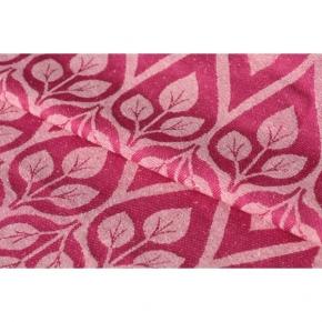 Bandolera Yaro La Vita Rose-Natural con seda bourette