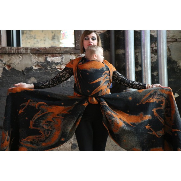 Fular Yaro Moonkeeper Trinity Bronze Black Modal