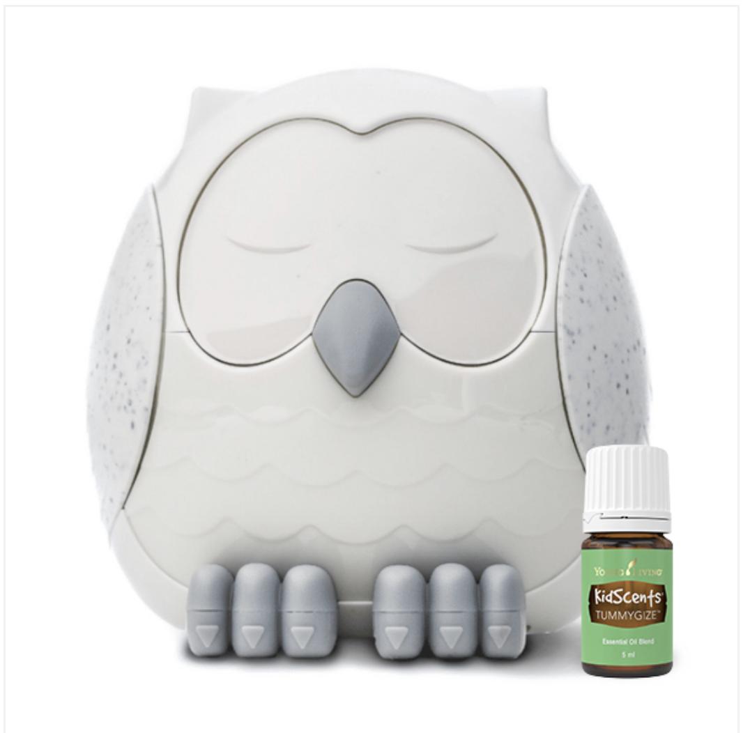 Snowy the Owl Diffuser + TummyGize 5 ml