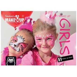 Cuaderno de maquillaje facial Girls