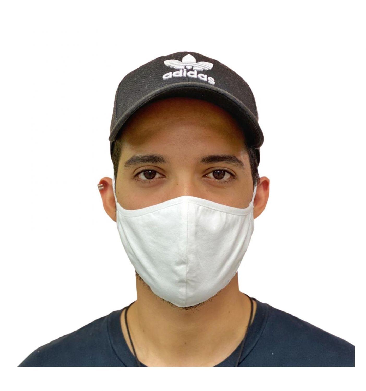 Mascarilla Higiénica Antibacterial Quokkababy Adulto Blanca