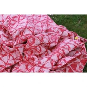 Bandolera Yaro La Fleur Fuchsia Flame