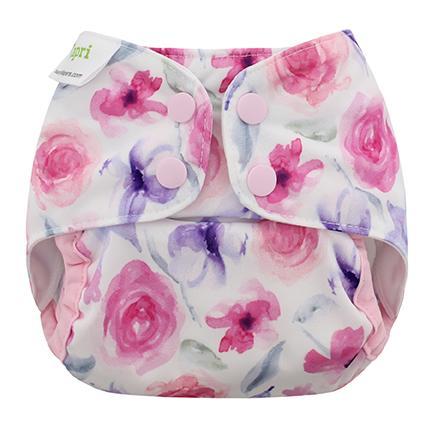 Cobertor Blueberry Capri recién nacido Rose