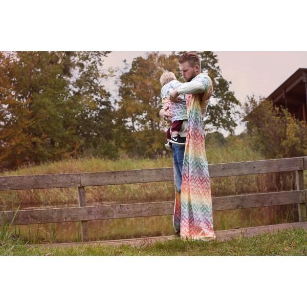 Fular Yaro La Vita Autumn Rainbow