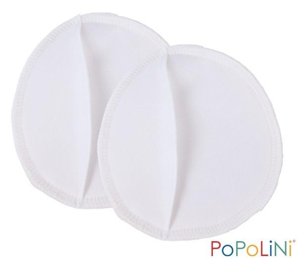 Pack de 6 discos Popolini algodón orgánico y PUL