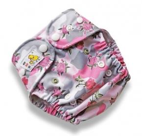 Cobertor Kokosi Slim unitalla Camo Rosa
