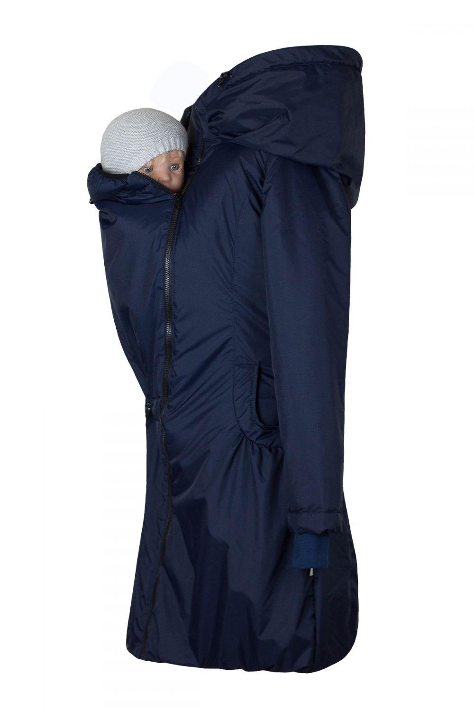 Abrigo de porteo de invierno Angel Wings Marino