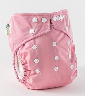 Pañal rellenable unitalla Little Lamb Blush Pink