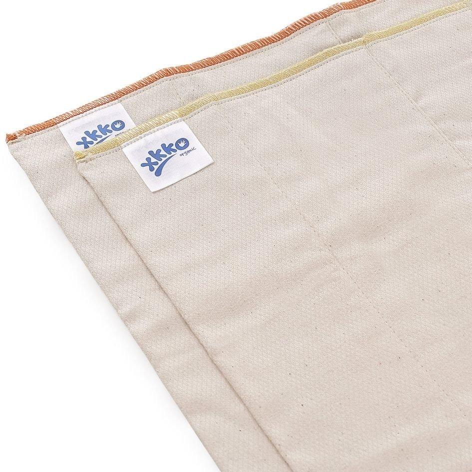 Pack de 6 predoblados Ojo de Perdiz algodón orgánico Xkko Talla M (Infant)