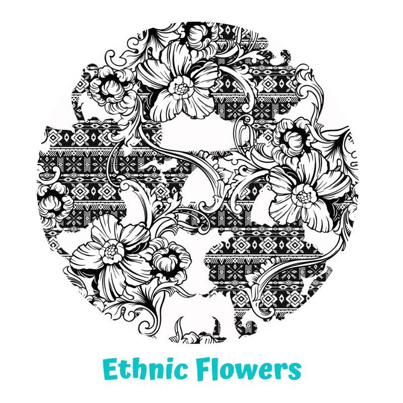 Pañal rellenable Little Birds Slim Ethnic Flowers