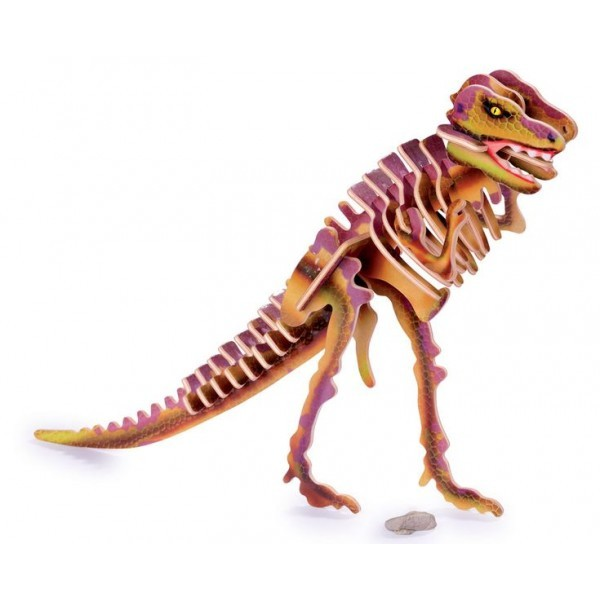 Puzle 3D Tyranosaurio
