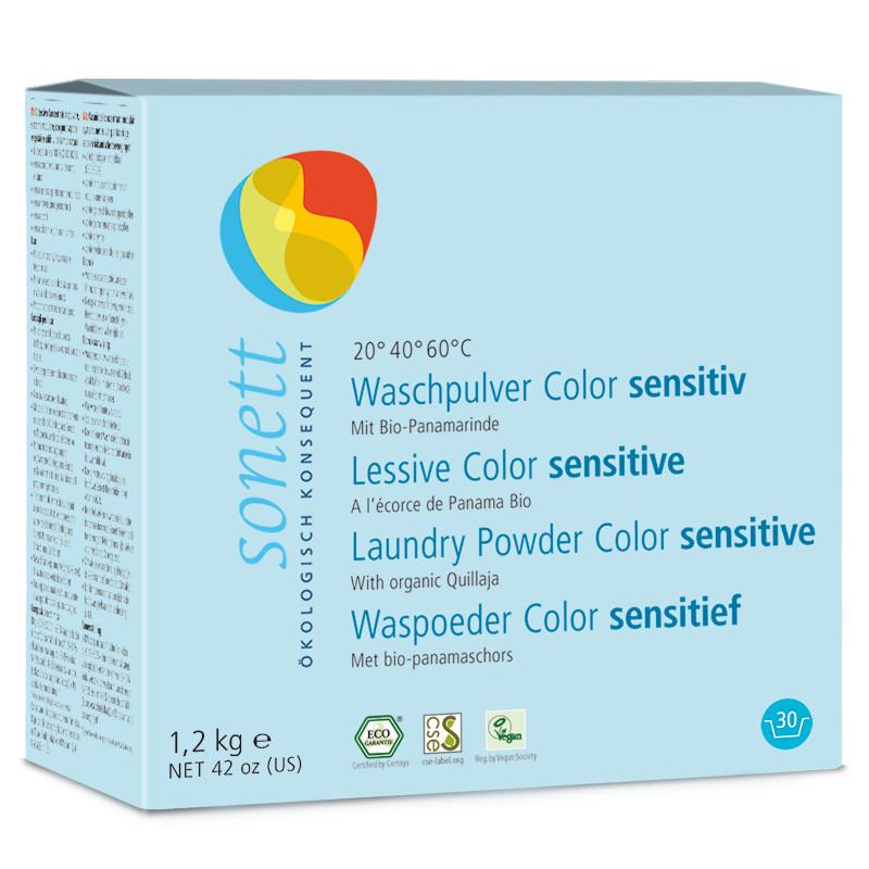 Detergente en polvo Sonett Color Sensitive