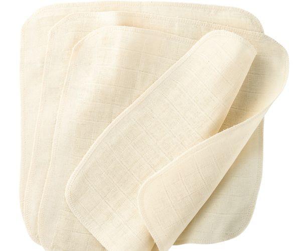 Pack de 5 toallitas Disana 100% algodón orgánico