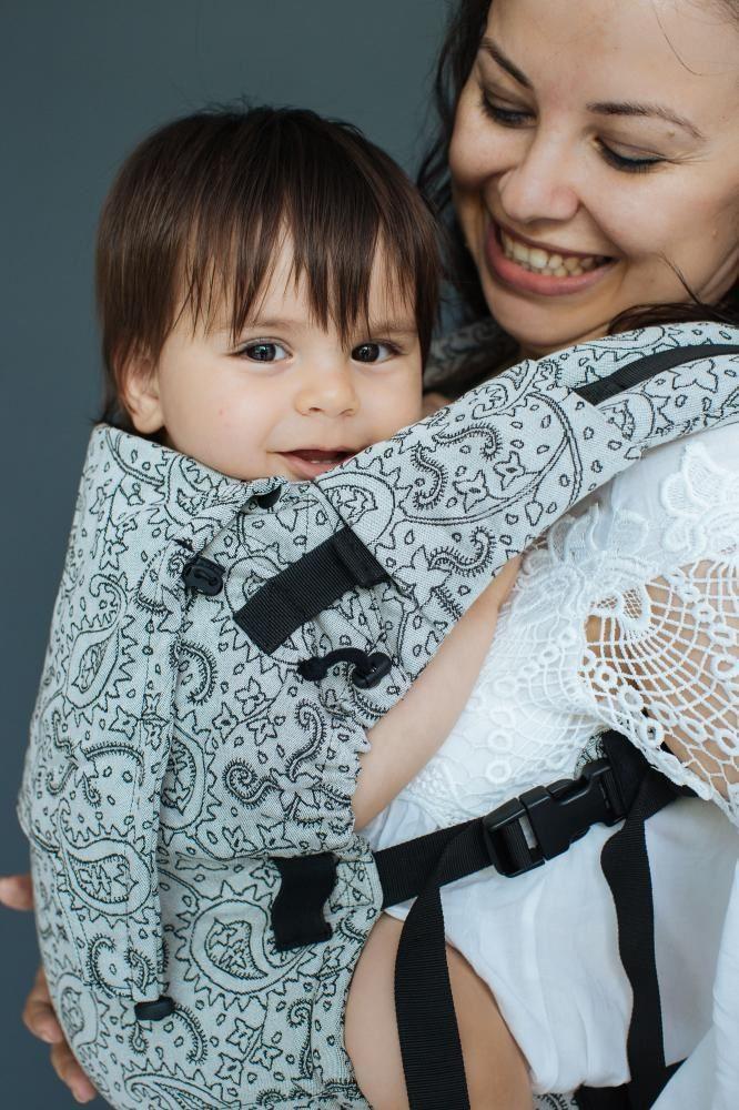Mochila portabebé evolutiva Neko Switch Baby Efes Paisley Hazel Light