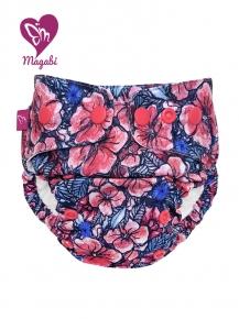 Pañal rellenable MiniOS Magabi Poppy Field