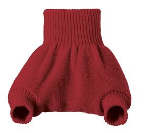 Cobertor 100% lana Disana rojo