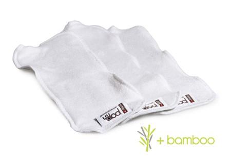 Pack de tres absorbentes bambú universales