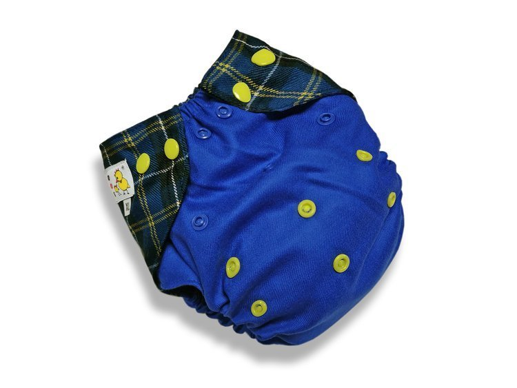 Cobertor de lana Kokosi XL azul real