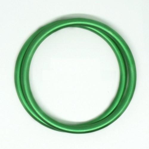 Anillas de aluminio verde
