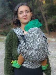 Mochila portabebé evolutiva Neko Switch Baby Lycia Elmas