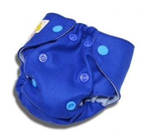 Cobertor de lana Kokosi recién nacido azul oscuro
