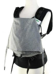 Mochila Buzzidil Evolution XL Diamond Dust Argento