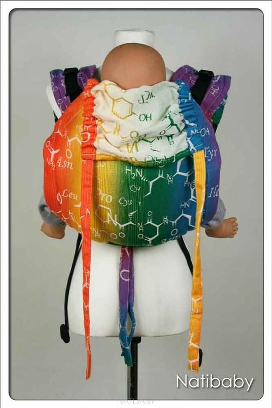 Onbuhimo Natibaby Oxytocin Rainbow