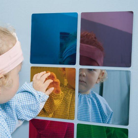 Espejos de colores