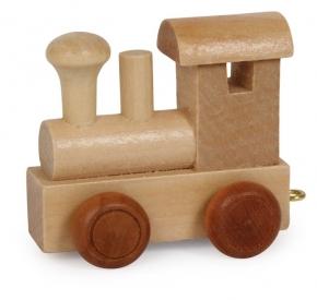 Trenes y dragones para letras de madera