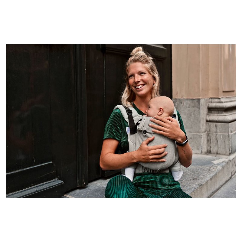 Mochila ergonómica evolutiva Pure Baby Love Click & Go Baby Emerald