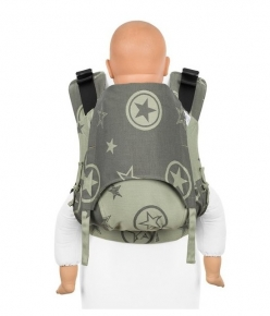 Mochila Fidella Fusion Toddler 2.0 Outer Space verde
