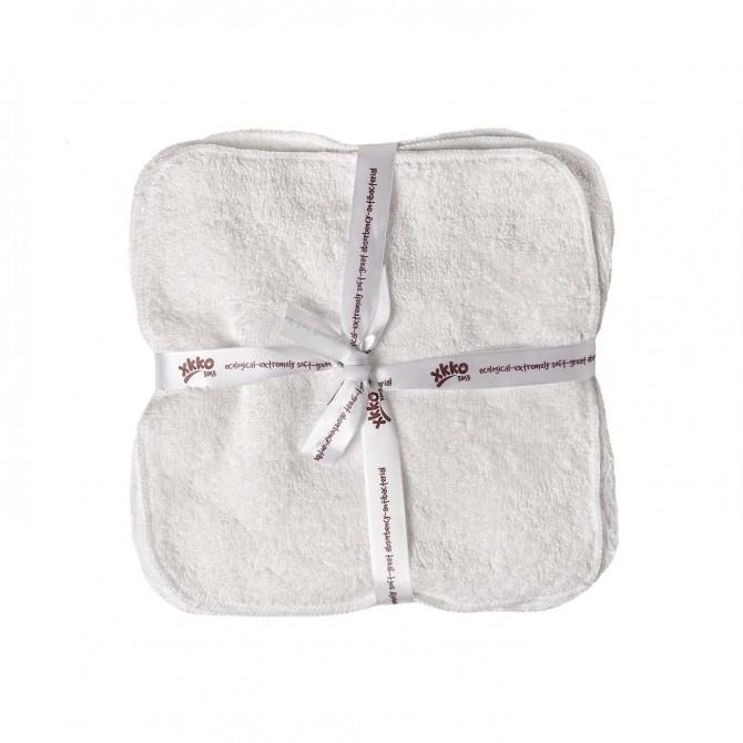 Pack de 5 toallitas lavables de bambú Xkko