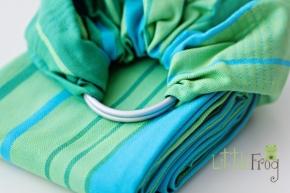 Bandolera Little Frog Turquoise
