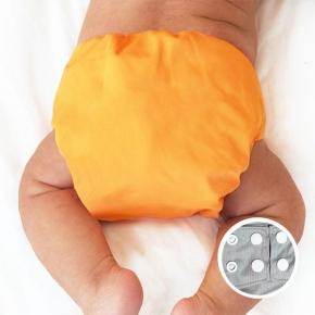 Pañal rellenable La Petite Ourse Naranja