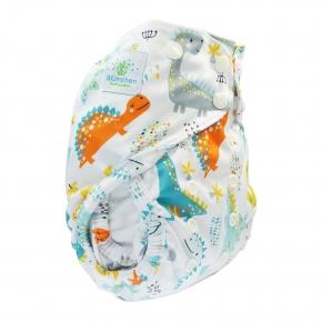 Cobertor unitalla Blümchen 2en1 ECO Dino