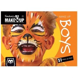 Cuaderno de maquillaje facial Boys