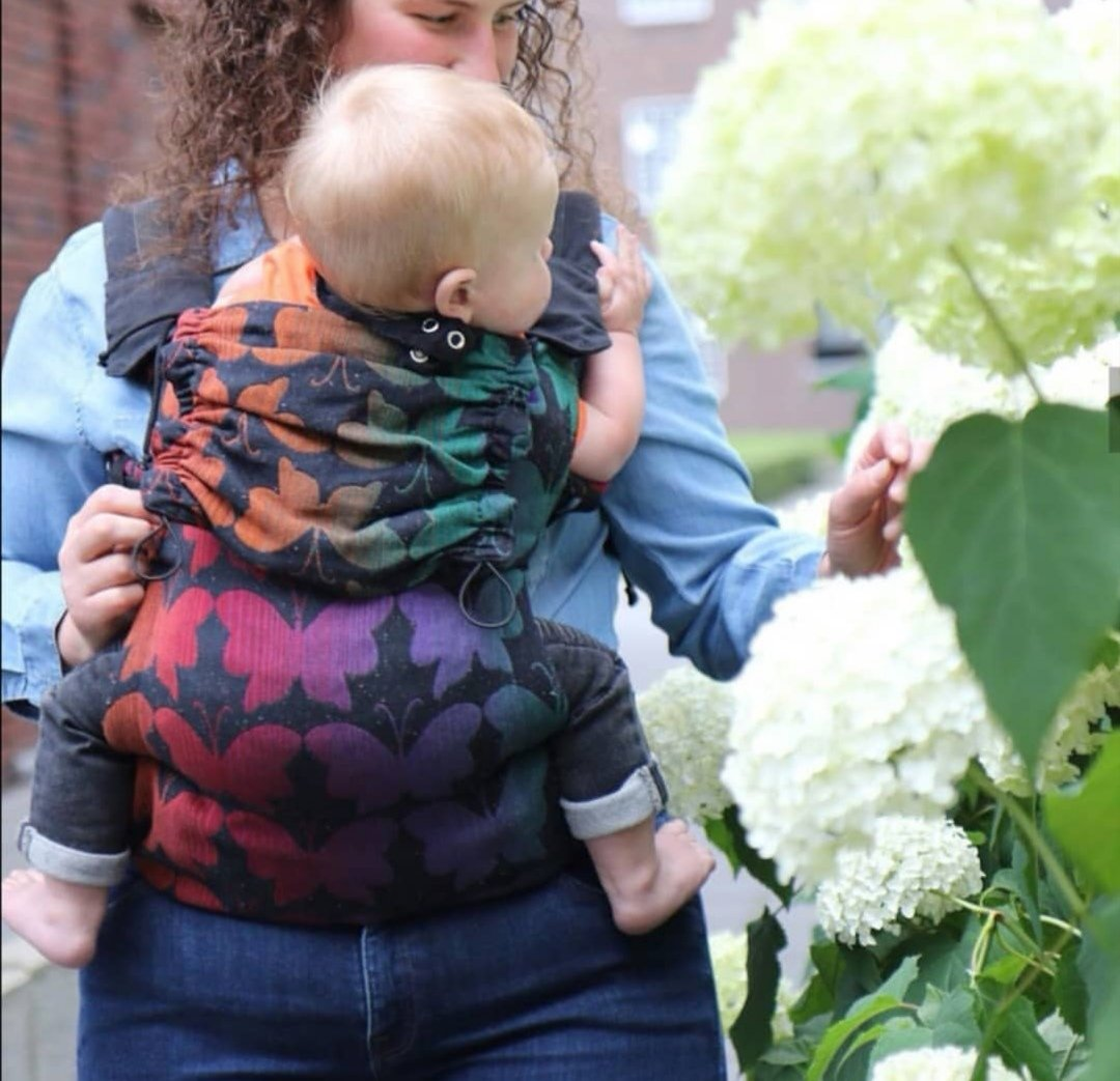 Mochila evolutiva Yaro Flex SET Butterflies Rainbow Baby