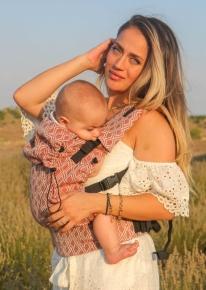 Mochila portabebé evolutiva Neko Switch Baby Lycia Terracota