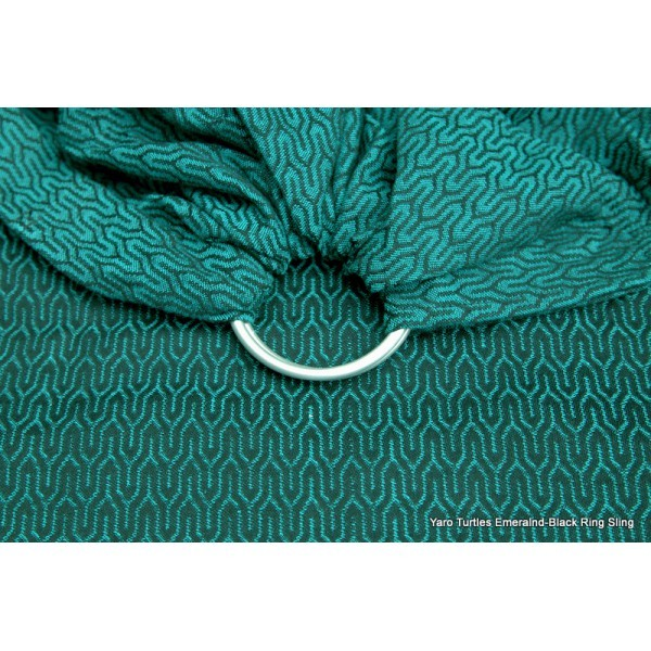 Bandolera Yaro Turtle Emerald-Black