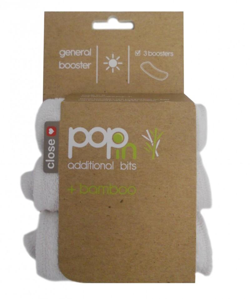 Pack de tres absorbentes bambú Pop-in universales