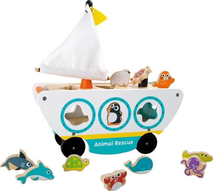 Barco para ensartar