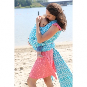 Fular Yaro La Vita Contra Beach Towel Laguna talla 5