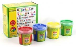 Pintura de dedos Ökonorm 4 colores