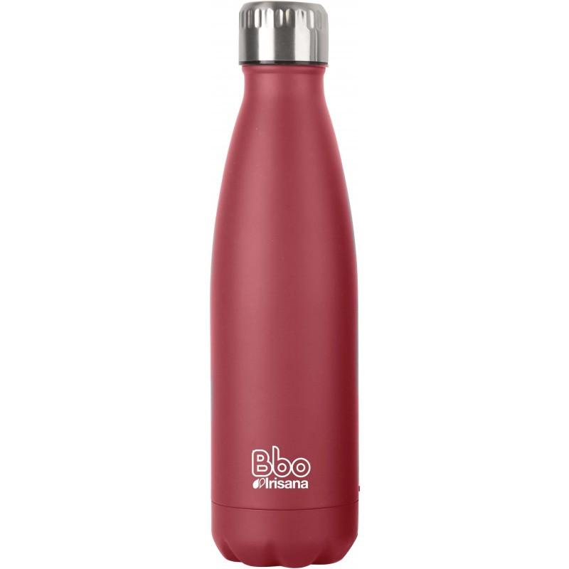 Botella térmica de acero inoxidable Irisana 350 ml (funda neopreno)