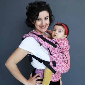 Mochila portabebé evolutiva Neko Switch Toddler Arinna