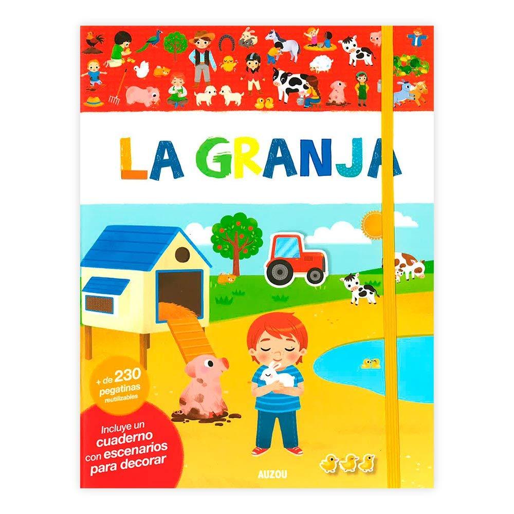 La granja, libro de pegatinas