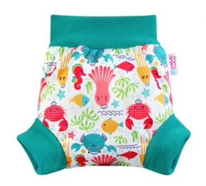 Cobertor Petit Lulu Pull-Up Lagoon