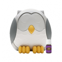 Feather The Owl Ultrasonic Diffuser + Aceite de Lavanda 5ml