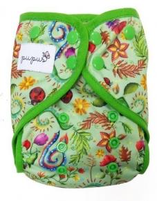 Cobertor unitalla Pupus Flowers